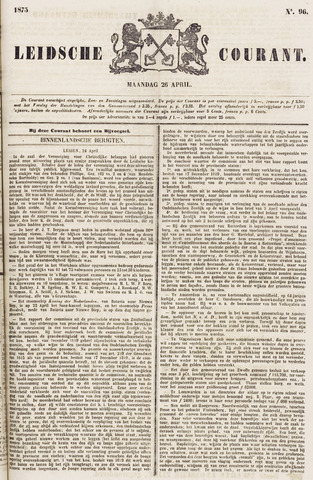 Leydse Courant 1875-04-26
