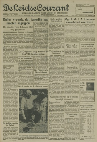 Leidse Courant 1958-06-25