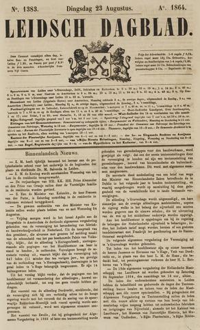 Leidsch Dagblad 1864-08-23