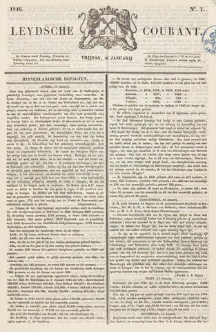 Leydse Courant 1846-01-16