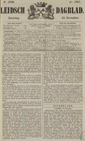 Leidsch Dagblad 1867-11-23