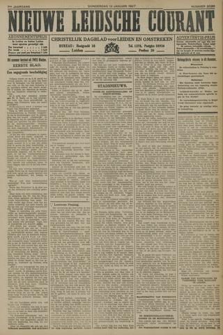 Nieuwe Leidsche Courant 1927-01-13