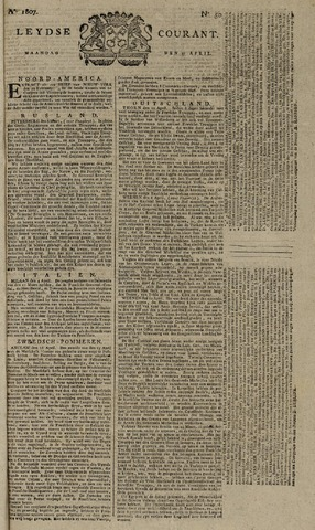 Leydse Courant 1807-04-27