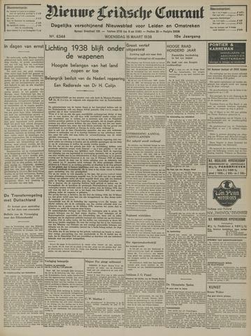 Nieuwe Leidsche Courant 1938-03-16