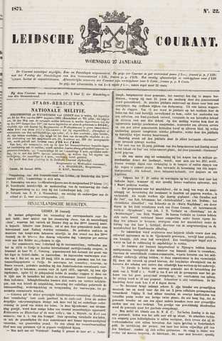Leydse Courant 1875-01-27
