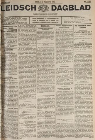 Leidsch Dagblad 1932-08-02