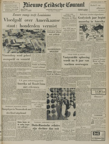 Nieuwe Leidsche Courant 1957-06-29