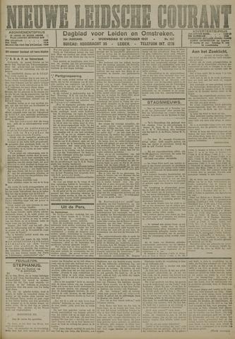 Nieuwe Leidsche Courant 1921-10-12
