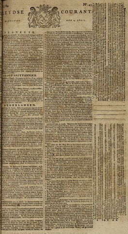 Leydse Courant 1784-04-14