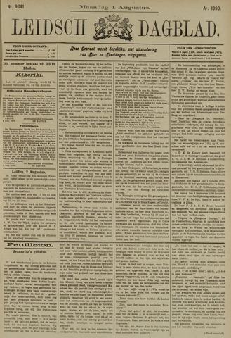 Leidsch Dagblad 1890-08-04
