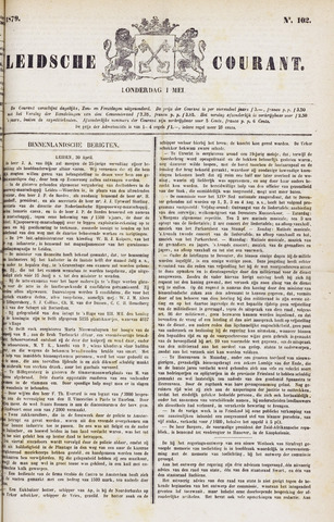 Leydse Courant 1879-05-01