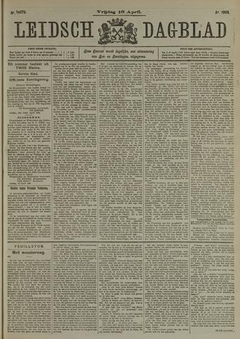 Leidsch Dagblad 1909-04-16