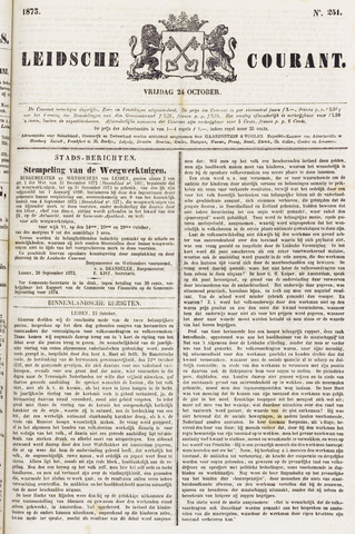 Leydse Courant 1873-10-24