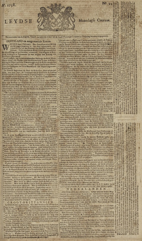 Leydse Courant 1758-02-20