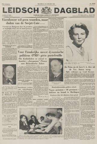 Leidsch Dagblad 1956-01-30