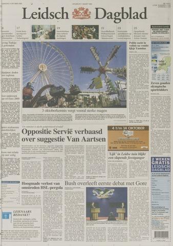 Leidsch Dagblad 2000-10-04