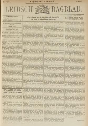 Leidsch Dagblad 1893-02-24