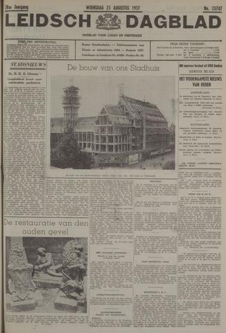 Leidsch Dagblad 1937-08-25