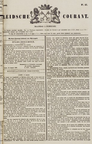 Leydse Courant 1885-02-02
