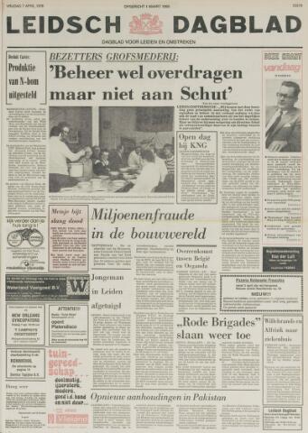 Leidsch Dagblad 1978-04-07