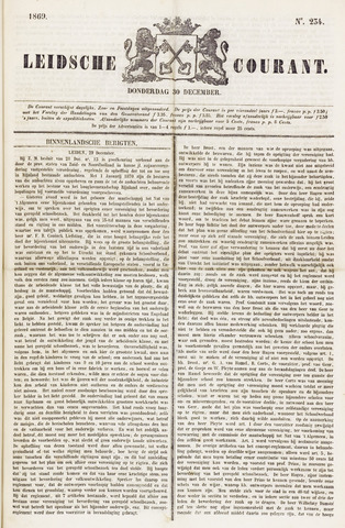 Leydse Courant 1869-12-30