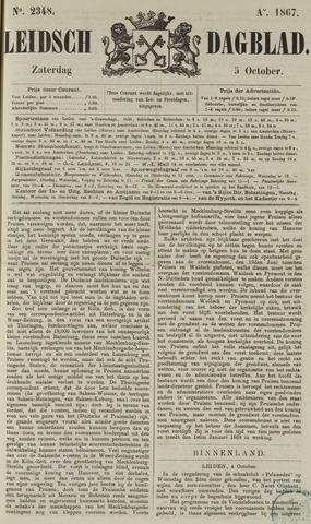 Leidsch Dagblad 1867-10-05