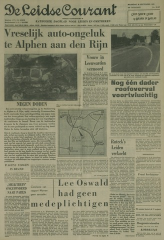 Leidse Courant 1964-09-28