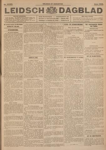 Leidsch Dagblad 1926-08-27