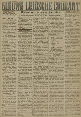 Nieuwe Leidsche Courant 1923-01-15