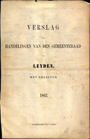 Handelingen van de Raad 1862-01-01
