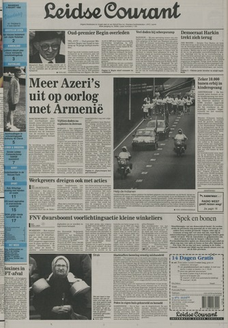 Leidse Courant 1992-03-09