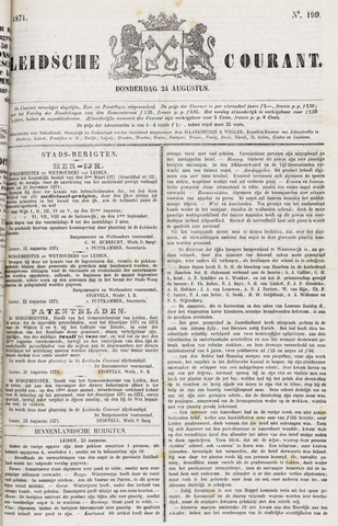 Leydse Courant 1871-08-24