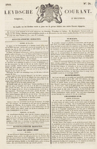 Leydse Courant 1844-12-27