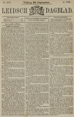 Leidsch Dagblad 1882-09-22