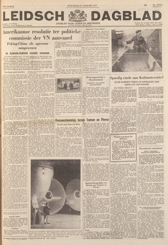 Leidsch Dagblad 1951-01-31