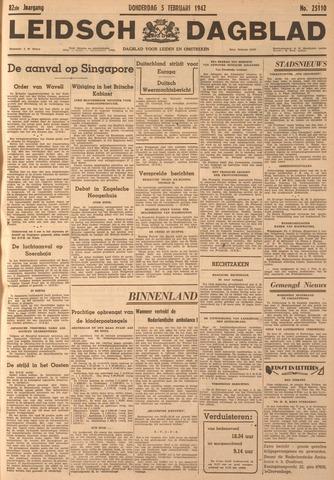 Leidsch Dagblad 1942-02-05