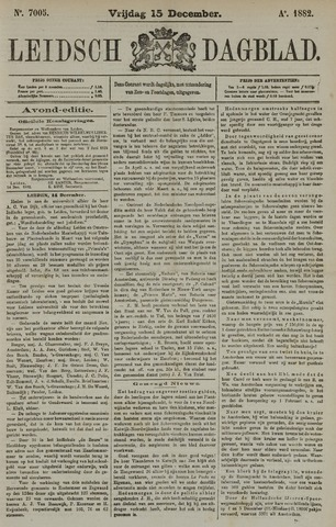 Leidsch Dagblad 1882-12-15