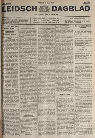 Leidsch Dagblad 1933-07-21