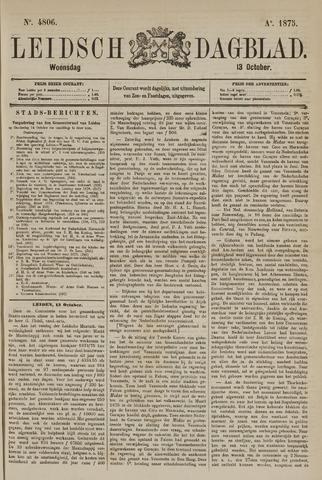 Leidsch Dagblad 1875-10-13