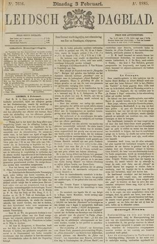 Leidsch Dagblad 1885-02-03