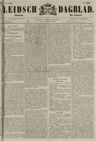 Leidsch Dagblad 1870-01-25