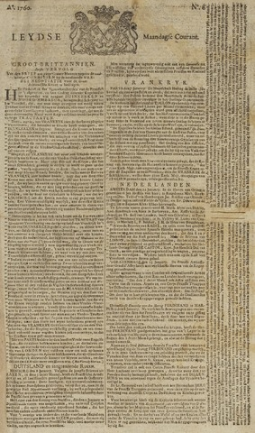 Leydse Courant 1760-01-14
