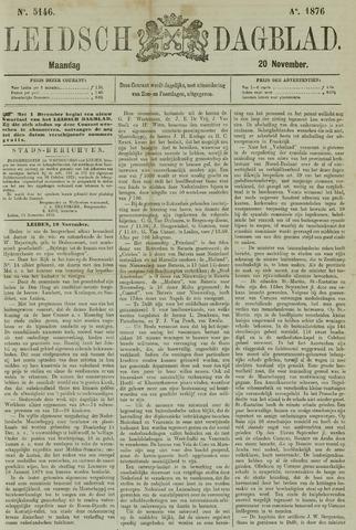 Leidsch Dagblad 1876-11-20