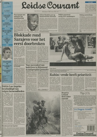 Leidse Courant 1992-07-13