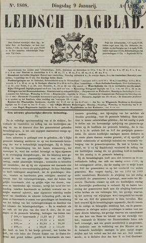Leidsch Dagblad 1866-01-09