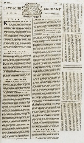 Leydse Courant 1824-09-01