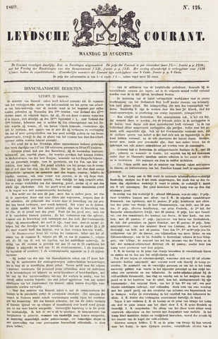 Leydse Courant 1869-08-23