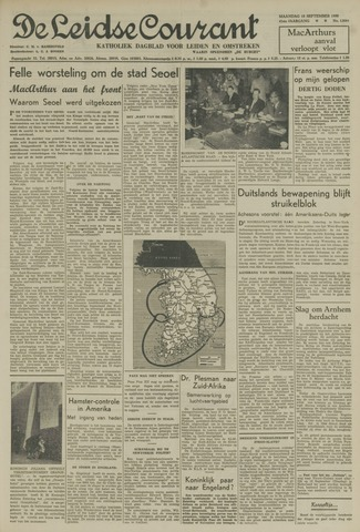 Leidse Courant 1950-09-18