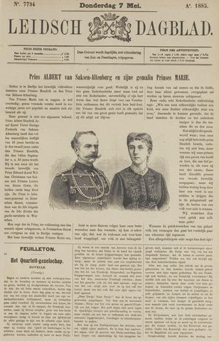 Leidsch Dagblad 1885-05-07