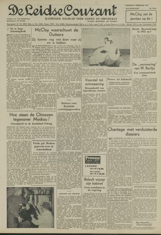 Leidse Courant 1950-02-07